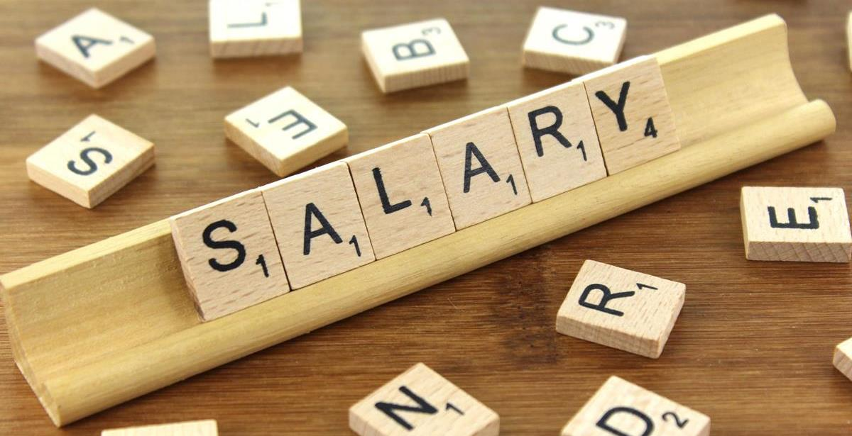 Salary discussion in a job interview